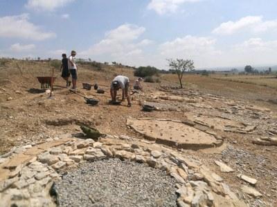 Cinquena campanya arqueològica a la Necròpolis d'Almenara