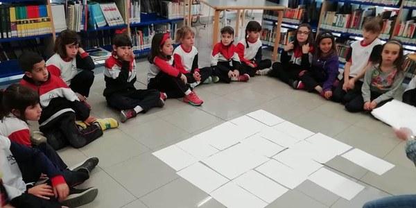 Club de lectura amb els alumnes de 2n de primària