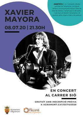 Concert Xavier Mayora_08.07.20