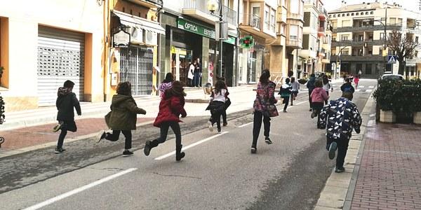 Activitats al carrer durant el Dia sense cotxes (2018)