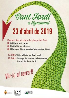 Sant Jordi a Agramunt (2019)