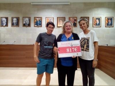 L'Ajuntament d'Agramunt dóna 817€ a l'Associació Melfa