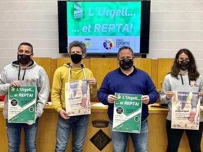 El Consell Comarcal i el Consell Esportiu de l'Urgell dinamitzen  fer activitat física durant les vacances de Nadal