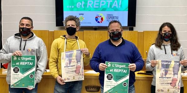 Presentació de la campanya al Consell Comarcal de l'Urgell