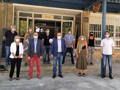 El conseller Bargalló visita Agramunt