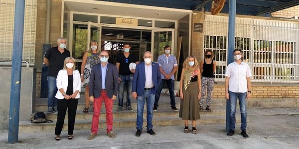 Visita del conseller Bargalló a Agramunt
