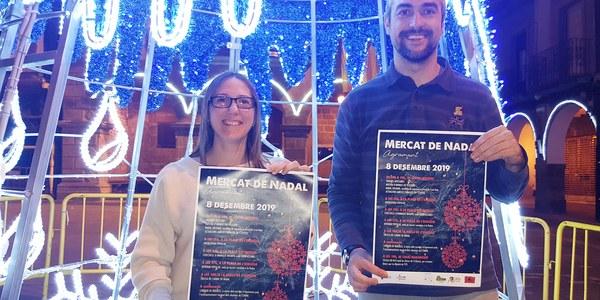 Presentació del Mercat de Nadal a Agramunt (2019)