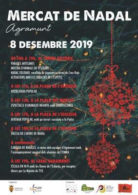 Programació actes Mercat Nadal Agramunt 2019