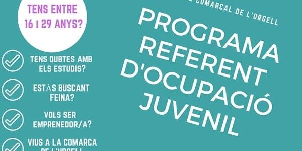 El Programa Referent d'Ocupació Juvenil amplia el seu servei a Agramunt