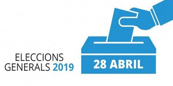 Eleccions Generals 28 d'Abril a Agramunt
