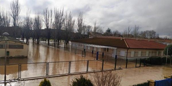 Inundacions gener 2020 Agramunt