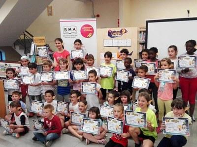 Els nens d'Agramunt amb la seva màgia recuperen els llibres de la biblioteca