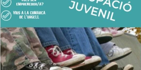 Cartell del Programa Referent d'Ocupació Juvenil.