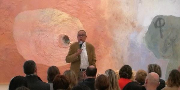 Conferència realitzada per Jaume Funes a l'Espai Guinovart