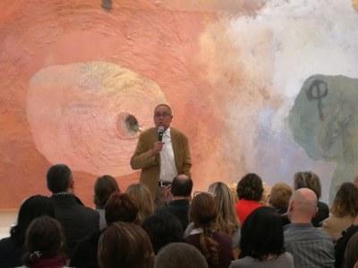 Èxit de públic a la conferència de Jaume Funes