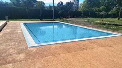 Finalitzades les obres de la piscina petita