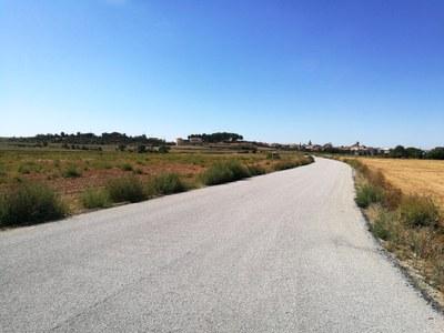 Finalitzen els treballs d'arranjament dels camins de Les Puelles