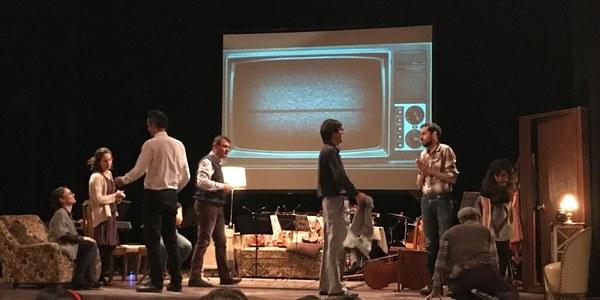 Presentació de l'espectacle Fora de Sèrie a Agramunt