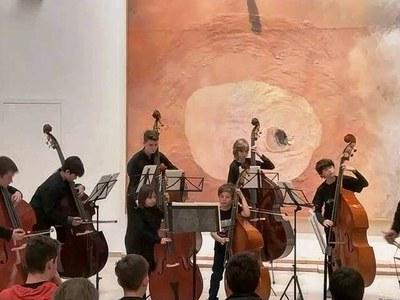 Gran concert dels alumnes de contrabaix del Conservatori de Cervera