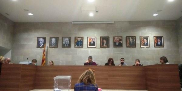 Imatge de la sessió plenària del 27.12.2018