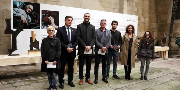 Presentació de la mostra al Pati de l'IEI