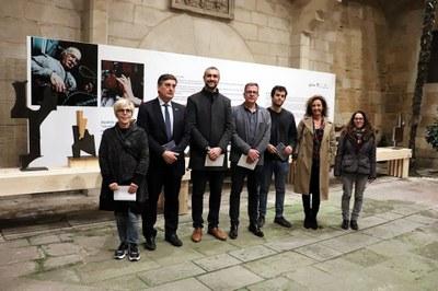 Inaugurada la mostra 'Guillem Viladot. Retalls. Formes trobades'