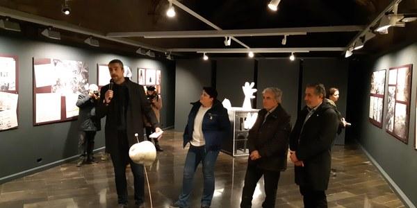 Inauguració de la mostra a l'IEI (Lleida)