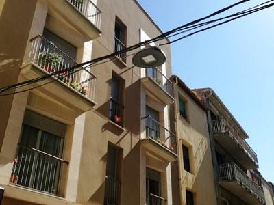 Instal•lada la nova il·luminació al carrer Sió