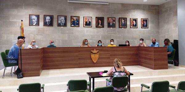 Sessió extraordinària de l'Ajuntament Ple (29.07.20)