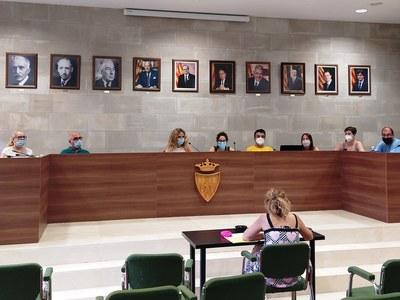 Judit Serra pren possessió com a regidora a l'Ajuntament d'Agramunt