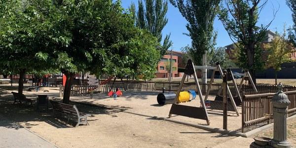 Zona lúdica del Passeig Josep Brufau d'Agramunt.
