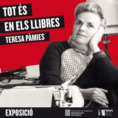 """La Biblioteca Municipal Guillem Viladot acull la exposició """"Tot és en els llibres"""""""