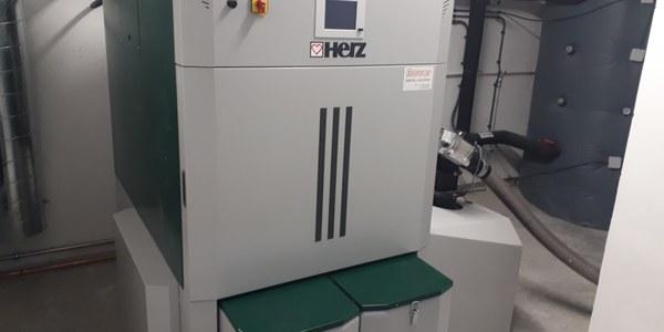 Instal·lada la caldera de biomassa al Casal Agramuntí