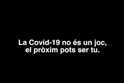 La Covid no és un joc