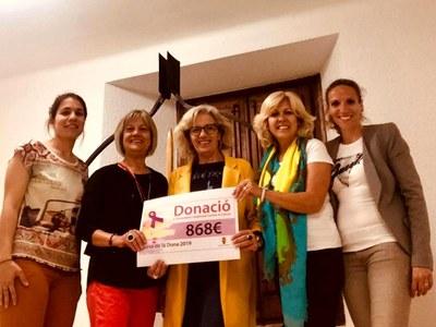 La Cursa de la Dona d'Agramunt dóna més de 800 euros per la lluita contra el càncer