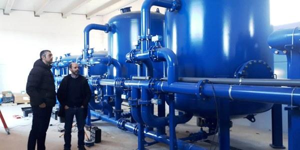 Instal·lacions de la nova potabilitzadora d'aigua d'Agramunt