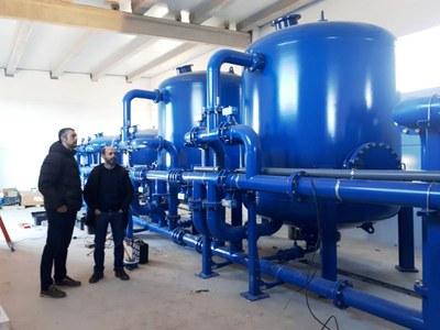 La nova potabilitzadora subministrarà també l'aigua a Montclar