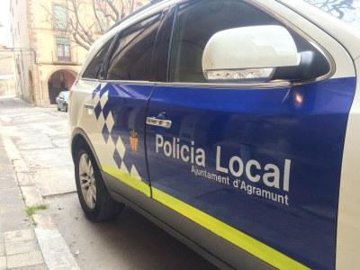 La Policia Local d'Agramunt posa 13 noves denúncies per incompliment