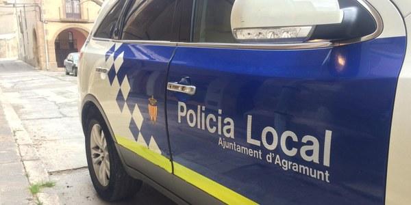 La Policia Local d'Agramunt tindrà competència per aplicar sancions en matèria de Salut
