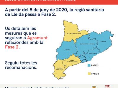 La regió sanitària de Lleida entra a la Fase 2 del desconfinament