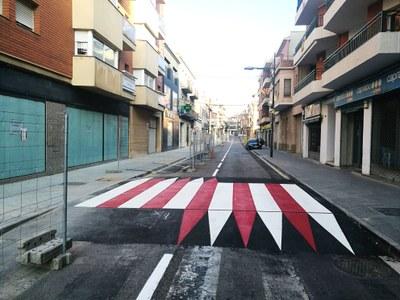 Passos de vianants a l'avinguda Jaume Mestres