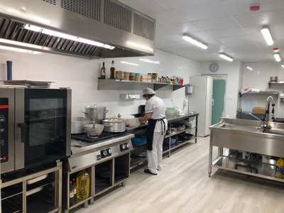 La Residència Geriàtrica Mas Vell recupera el servei de cuina pròpia