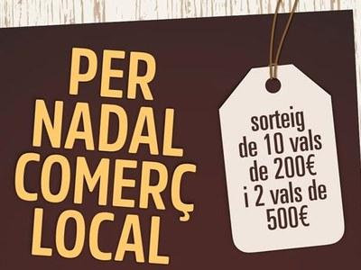 La Unió de Botiguers engega la campanya 'Per Nadal comerç local'