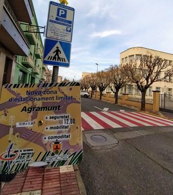 L'Ajuntament duu a terme un nou període d'avisos per regular les zones blaves d'aparcament