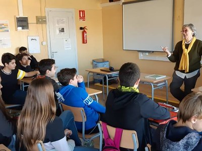 L'ajuntament organitza tallers d'escriptura als centres escolars