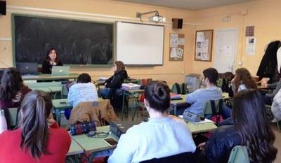 Taller de narrativa a l'institut amb Mireia Broca