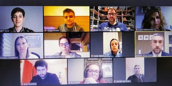 Sessió plenària telemàtica ( 20.03.20)
