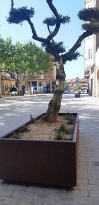 Es renova el mobiliari urbà de diferents espais de la vila