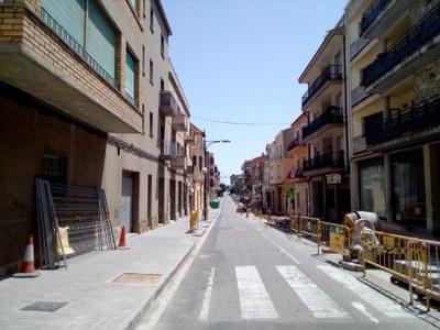 L'Avinguda Jaume Mestres estarà acaba a finals d'agost