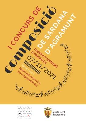 Primer Concurs Composició Sardana_cartell